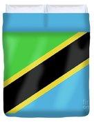 Tanzania Flag Duvet Cover