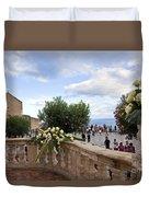 Taormina Square Duvet Cover