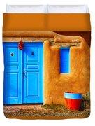 Taos Doorway Duvet Cover