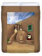 Taos Oven Duvet Cover