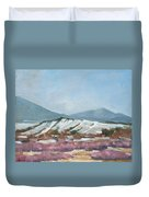 Taos Red Willows Duvet Cover