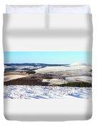 Tap O'noth Panorama Duvet Cover