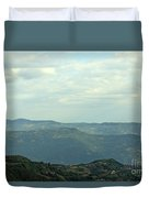 Tara Mountain West Serbia Landscape  Duvet Cover