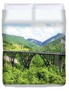 Tara River, Montenegro Duvet Cover