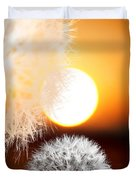 Taraxacum Sunset Duvet Cover