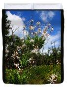 Tarflower Blooming Duvet Cover