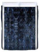 Targyle Pitch Black Pattern 1 Duvet Cover