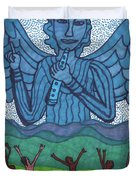 Tarot Of The Younger Self Judgement Duvet Cover