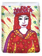Tarot Of The Younger Self The Empress Duvet Cover