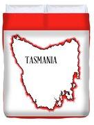 Tasmania Duvet Cover
