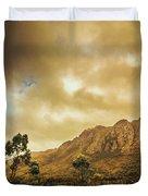 Tasmania Mountain Marvels Duvet Cover
