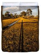 Tasmanian Sunset Explorer Duvet Cover