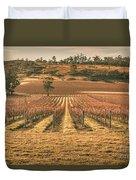 Tasmanian Winery In Winter Duvet Cover