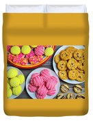 Tasty Assortment Of Cookies Duvet Cover