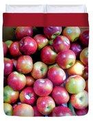 Tasty Fresh Apples 1 Duvet Cover