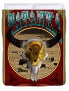 Tatanka American Bison Duvet Cover