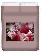 Tattered Tulip Petals Duvet Cover
