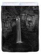 Taughannock Falls Late November Duvet Cover