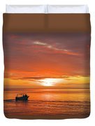Taveuni Sunset Duvet Cover