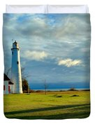 Sturgeon Point Lighthouse Duvet Cover