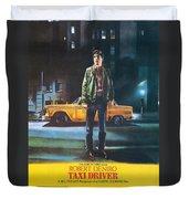 Taxi Driver - Robert De Niro Duvet Cover by Georgia Fowler