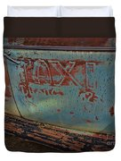 Taxi To Nowhere Duvet Cover