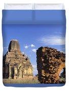 Tayokpye Temple Duvet Cover