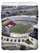 Tcf Bank Stadium Duvet Cover