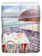 Tea At Furlongs Duvet Cover