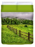 Tea Creek Meadow And Buttercups Duvet Cover