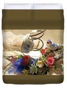 Tea Cup Bed Coil Floral Duvet Cover