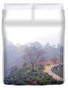 Tea Field Duvet Cover