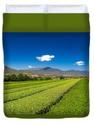 Tea In The Valley Duvet Cover