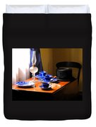 Tea Time Composition Duvet Cover