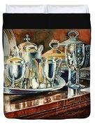 Tea With Marguerite Duvet Cover