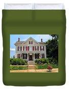 Teaberrys Tea Room Duvet Cover