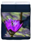Teal Dragonfly Duvet Cover
