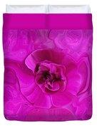 Teapot Rose Duvet Cover