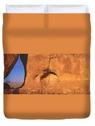 Teardrop Window, Monument Valley Duvet Cover