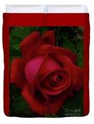 Teardrops Of A Rose Duvet Cover