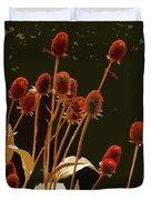 Teazels In A Secret Garden  Duvet Cover