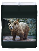 Teddy Bear Alive Duvet Cover