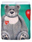 Teddy Bear Eli Duvet Cover