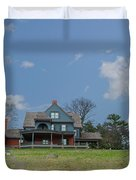 Teddy Roosevelts House - Sagamore Hill Duvet Cover