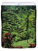 Tegalalang, Bali Duvet Cover