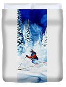 Telemark Trails Duvet Cover