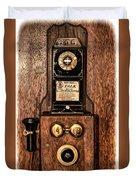 Telephone Duvet Cover