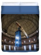 Telescope At Yerkes Duvet Cover