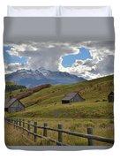 Telluride Countryside Duvet Cover