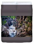 Temperance River Gorge Duvet Cover